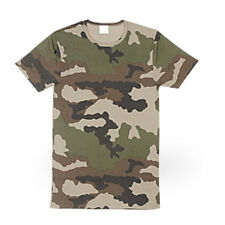 TEE SHIRT CAMO WOODLAND NEW MILITARY ISSUE 5 PACK