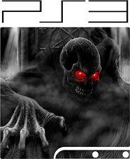 Playstation 3 Ps3 Slim demonio de ojos rojos pegatina de vinilo de la piel