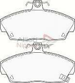NEW SET FRONT BRAKE PADS MG ZR ROVER 25, 45,200, 800