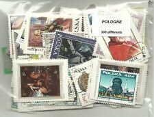 Lot  timbres de Pologne