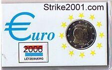 2 EURO COMMEMORATIVO LUSSEMBURGO 2006 FDC