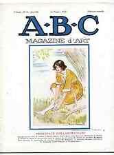 A-B-C Magazine d'Art 1926 Forain Corot le livre italien Malo Renault