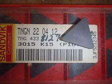 9 Sandvik TNG 433 3015 K15 Carbide Inserts