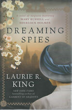 Dreaming Spies by Laurie R. King 1st Ed NEW HC SIGNED Brodart Cover