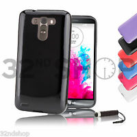 Crystal Gel Silicone case cover for LG G2 Mini / LG G3 + FREE SCREEN PROTECTOR