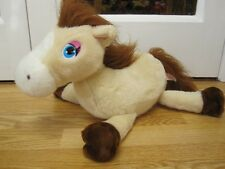 ANIMAGIC NUTMEG MOTION SENSING NEIGHING MY PRETTY PONY BEIGE HORSE SOFT TOY