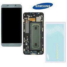 Samsung Galaxy S6 Edge Plus G928F LCD Display Bildschirm Silber  ⫸ Original Ware
