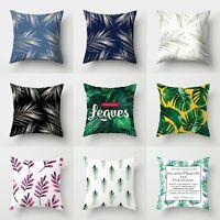 Home Sofa Waist Cover Case Cushion 18'' Pillow Throw Decor Polyester