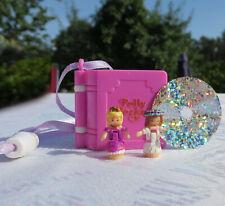 Mini Polly Pocket 100% Glitter Wedding Locket - Enchanted Storybooks - Medaillon