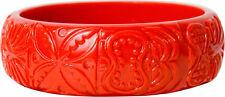 60052 Red Tiki Bracelet Sourpuss Island Beach Ocean Retro Rockabilly Kitchy Cute