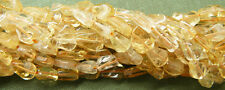 Citrine gemstone beads pear cut aprox. 9x6mm 36 beads per strand Free shipping