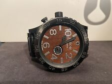 Nixon The 51-30 Tide Watch Black/Dark Wood