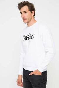 Mossimo Men's Crew Sweatshirt Casual Pullover Jumper Long Sleeve Tops Size S-XL