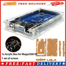 Transparent Acrylic Case Shell Enclosure Boxscrews For Arduino Mega 2560 R3