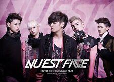 NU'EST [FACE] THE FIRST SINGLE Album CD+Photo Book K-POP SEALED