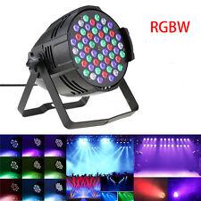 162W DJ PAR CAN 54x LED Stage Lighting RGBW PAR64 DMX512 Party Disco Bar Program