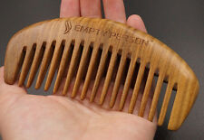 Empty Person@ Brand Nature Green Sandalwood Comb Traditional Handmade Comb