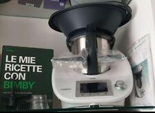 Vorwerk Bimby TM 5 Robot da Cucina - Bianco - Completo Di Tutto con bimby stick