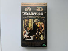 McLintock - VHS Video - 1993 John Wayne / Stefanie powers - Batjac Productions
