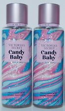 2 VICTORIA'S SECRET CANDY BABY FRAGRANCE MIST BRUME PARFUMEE 8.4oz 250ml