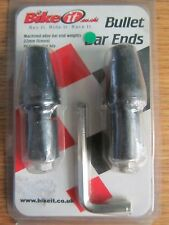 Bike IT aleación pesos extremo de la barra de bala mecanizado 22mm mobiliario Inc Llave Allen