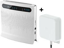 Huawei B593 s12 4G LTE 100M router WiFi modem Sim USB SMA 3G Umts Antennna MiMo