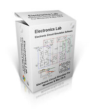 Electronics Lab Circuit Simulation Software For Windows 7, 8, 10 & Mac OS-X