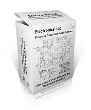 Electronics Lab Circuit Simulation Software For Windows 7, 8, 10 & Mac OS-X