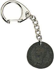 ROMAN COIN Keyring Legionary SPQR Roma Imperial Rome Ancient Money Caesar bn