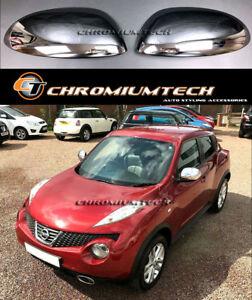 2010-2014 Pre-Facelift Nissan Juke F15 Chrome Mirror Cap Covers