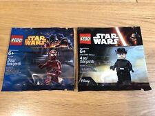 🔹 Sellado 🔹 Lego Star Wars Minifigura polybags X2 Paquete Colección 🔹 exclusivo 🔹