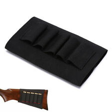 tacitcal 5 rounds rifle bullet holder butt stock shell pouch bag ammo carrier FF