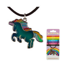 Unicorn Mood Necklace Girls Birthday Present Party Bag Favour Gift Ring