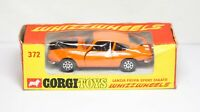Corgi 372 Lancia Fulvia Sport In Its Original Box - Near Mint Vintage Original