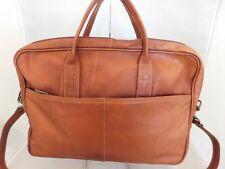 Cortez Colombia Brown Leather Messenger Laptop Shoulder Crossbody Bag
