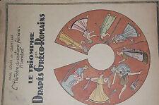 Histoire du costume Féminin, PL de Giafferri, Triomphe des drapés Gréco-Romains