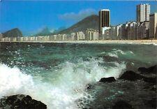 B29136 Rio de Janeiro Partial view of Atlantica Avenue in Copacabana brazil