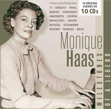 Monique Haas - Milestones of a Legend (2017)  10CD Box Set  NEW  SPEEDYPOST
