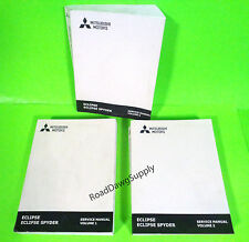 1998 Mitsubishi Eclipse Service Shop Repair Manual Book Set Spyder Turbo GS GS-T