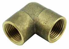 "Brass Elbow Fitting - 1/2"" Female x 1/2"" Female BSP 1000PSI (Box of 5)"