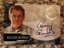 Angel Season 5 Autograph Card Roger Burkle Gary Grubbs A45