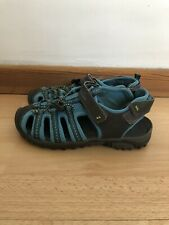 Kids TRESPASS NANTUCKET Blue / Grey Closed Toe Sandals Uk Size 2