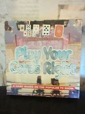 VINTAGE PLAY YOUR CARDS RIGHT BOARD GAME 1980'S TV BRITANNIA GAMES