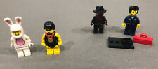 Lot of 4 LEGO Set Collection Minifigure Series #6 & #7 Bunny Swimmer & MORE!!