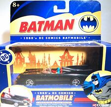 CORGI BATMAN 1960's DC COMICS BATMOBILE 1:43 SCALE US77301 MIB