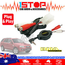 FORD TERRITORY SX-SY AUXILIARY ADAPTER AUX iPOD iPHONE iPAD GALAXY MP3 PLUG&PLAY