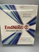 Endnote X3 for Windows