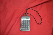 Kensington 33006 Pocket KeyPad and 2 port USB Hub. Wired USB Number Pad. NumPad.