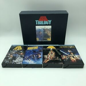 Star Wars Trilogy Box Set NOT COMPLETE Special LetterBox Collectors Edition VHS