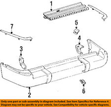 TOYOTA OEM 91-94 Land Cruiser-Bumper Trim-Molding Trim Right 5275260010